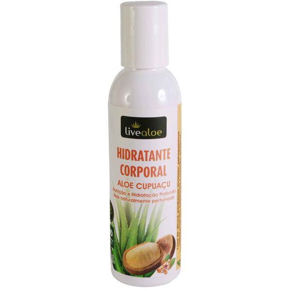 Hidratante Corporal Aloe Cupuaçu Livealoe - 150ml