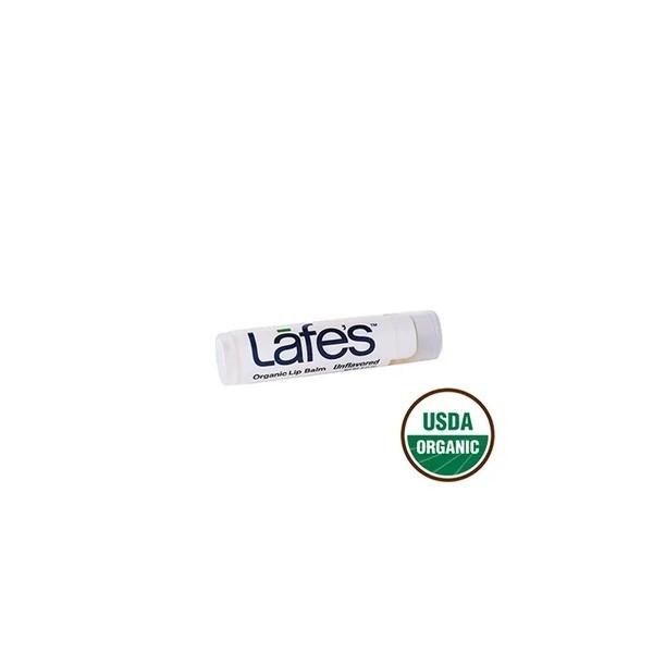 Hidratante Labial Natural Orgânico Lip Balm Lafes - Unflavored (sem sabor)