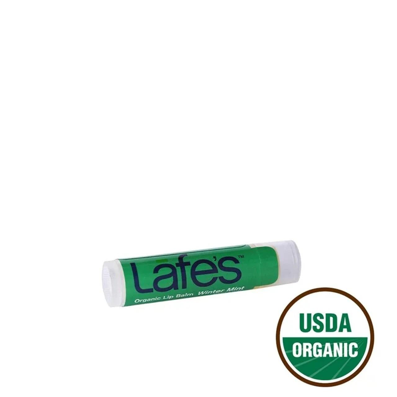 Hidratante Labial Natural Orgânico Lip Balm Lafe´s - Winter Mint (Hortelã Refrescante)
