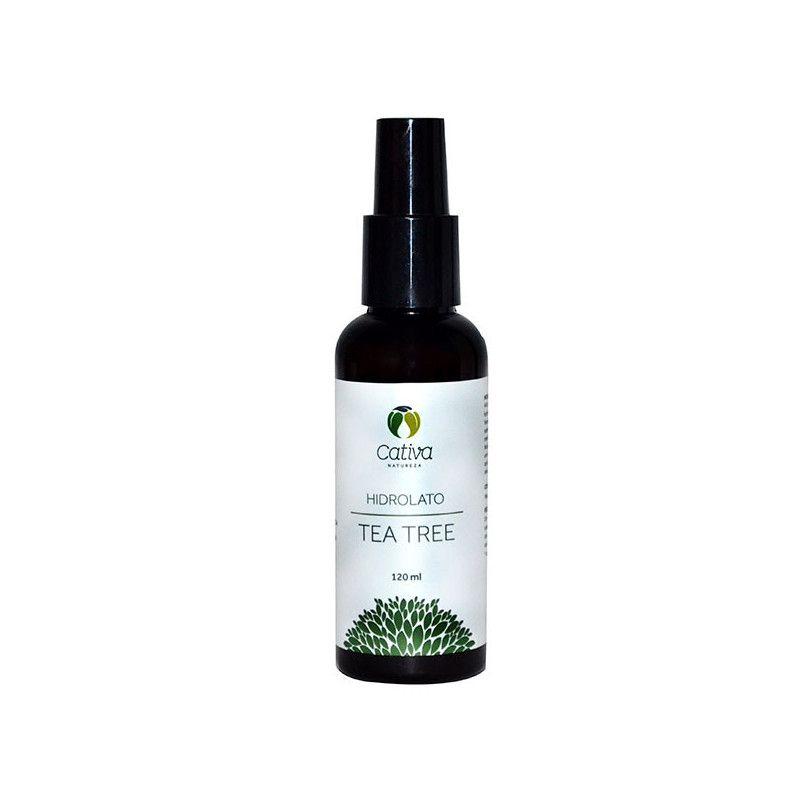 Hidrolato de Tea Tree Orgânico Natural Vegano Cativa Natureza - 120ml