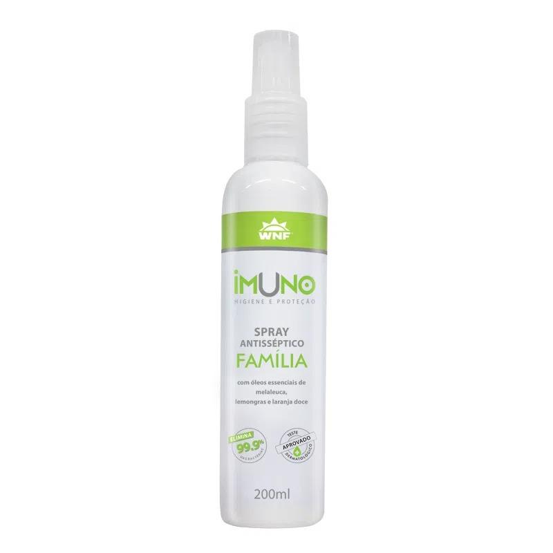 Higienizador Natural Álcool 70 WNF Imuno - 200ml