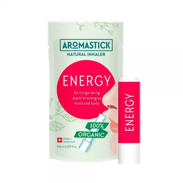 Inalador Nasal Natural de Óleos Essenciais Energy Aromastick - Energizante