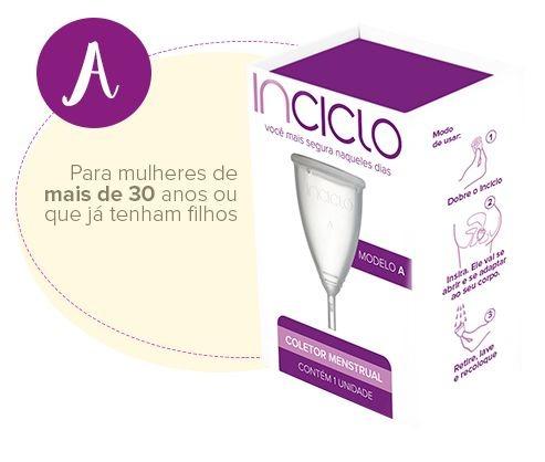 Inciclo Coletor Menstrual A + Copo Esterilizador