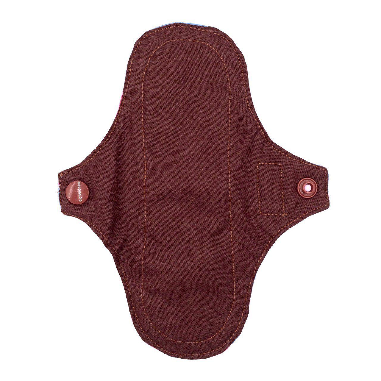 Kit Absorvente de Pano Korui Normal Conforto Natural + Bolsinha Impermeável
