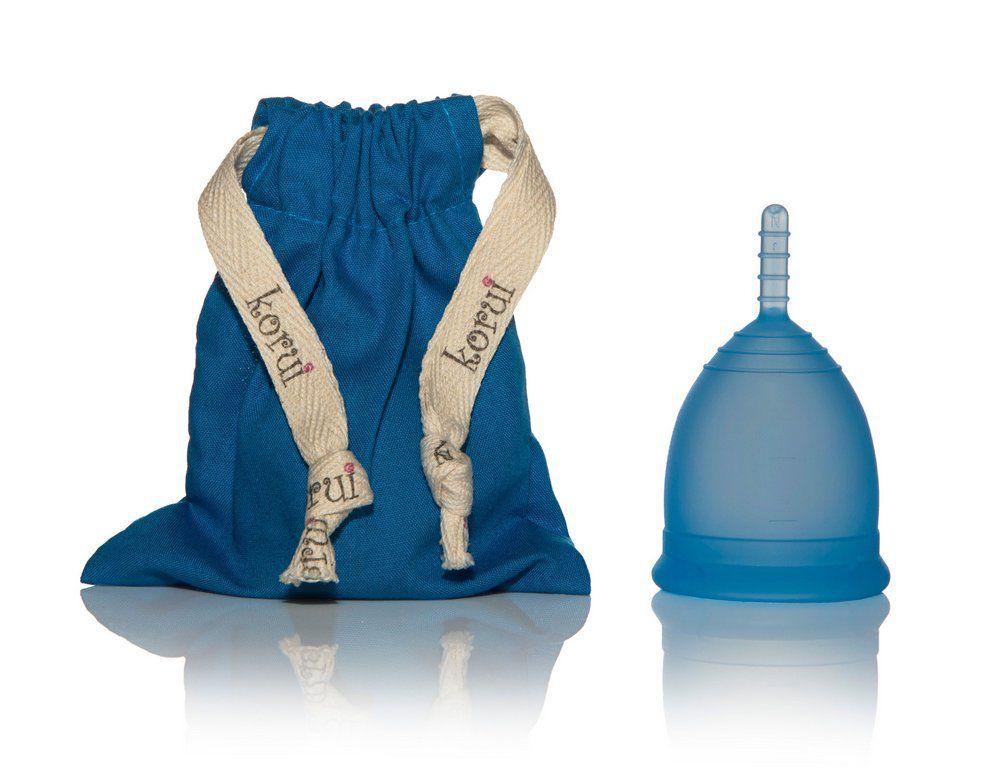 Kit Coletor Menstrual e Copo Esterilizador Korui