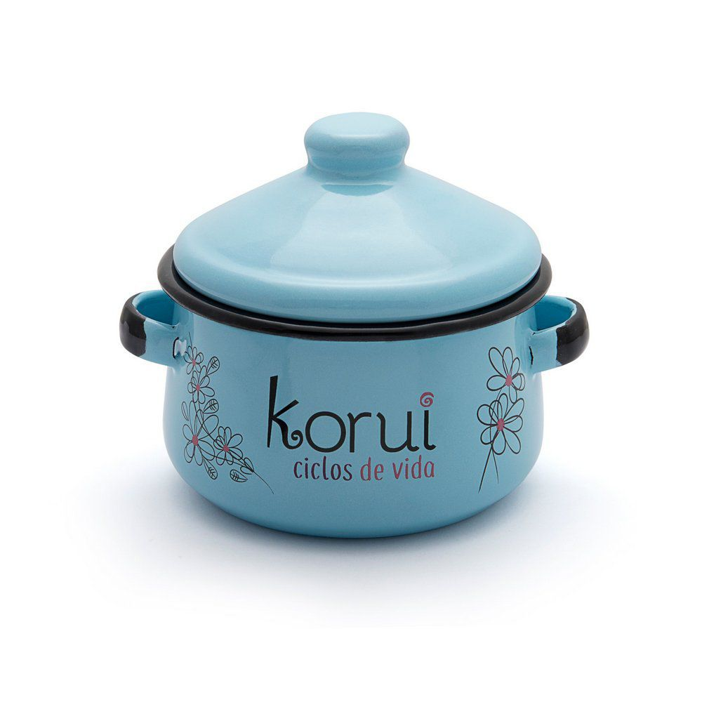 Kit Coletor Menstrual Korui, Panelinha Esterilizadora e 2 Absorvente de Pano Noturno