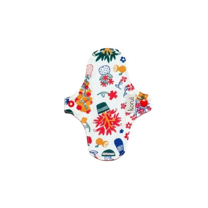 Kit Coletor Menstrual, Panelinha Esterilizadora e Protetor com abas Korui