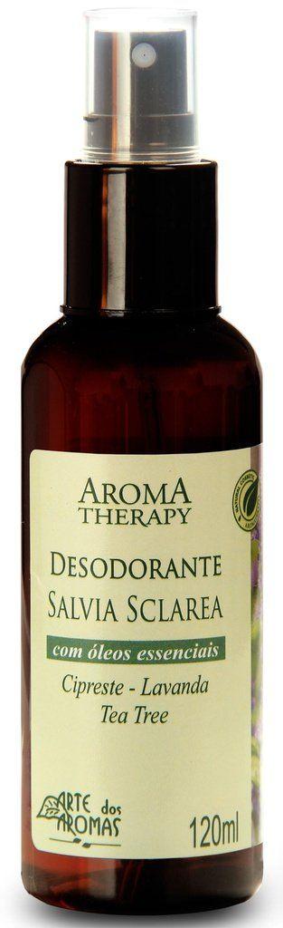 Kit Desodorante Natural Spray Sálvia e Alecrim - Arte dos Aromas