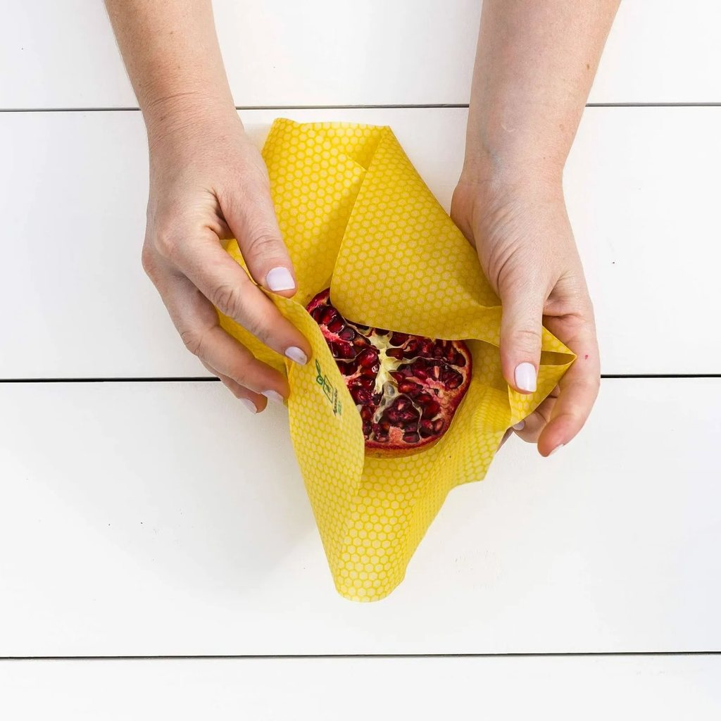 Kit Ecowrap Pano Encerado Vegano Reutilizável Agora Sou Eco - 3 unidades