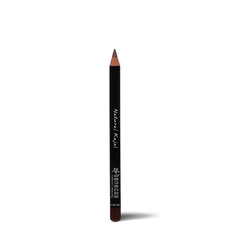 Lápis de Olho Orgânico Natural Kajal Benecos 1,13g - Marrom (Brown)