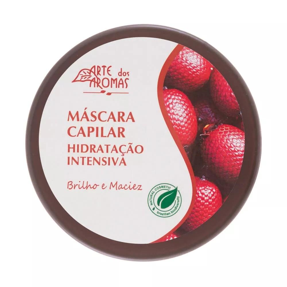 Máscara Capilar Natural Hidratação Intensiva Buriti Arte dos Aromas  - 196g