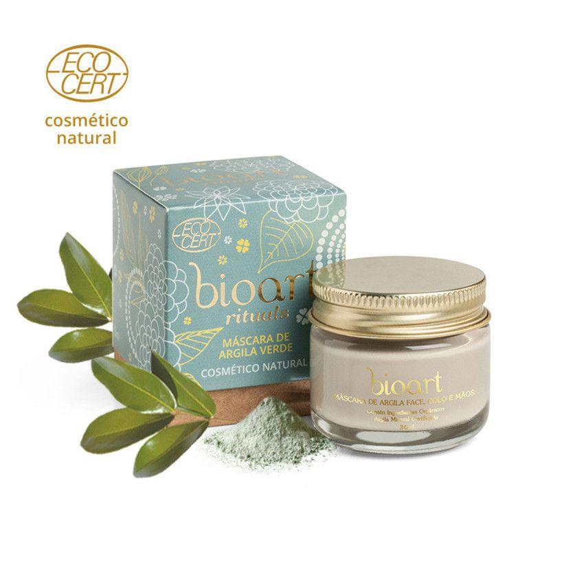 Máscara de Argila Verde Bionutritiva Bioart 30g - Detox
