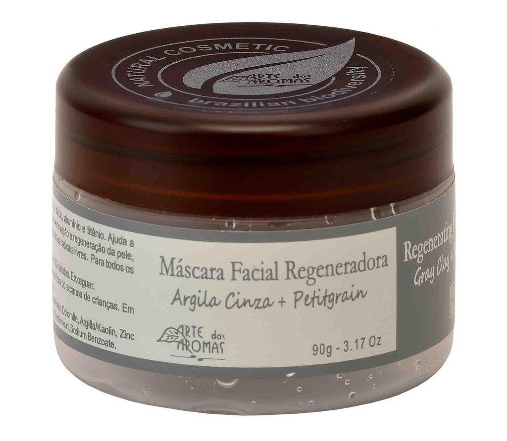 Máscara Facial Regeneradora Argila Cinza Arte dos Aromas - 90g