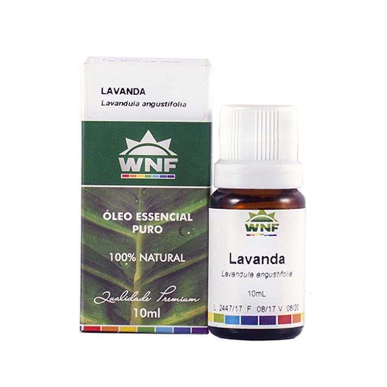 Óleo Essencial Lavanda Francesa WNF - 10ml