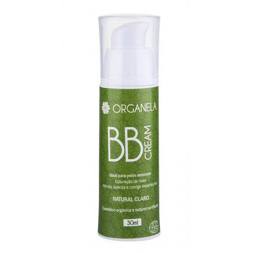 Organela BB Cream Orgânico 30ml - Natural Claro