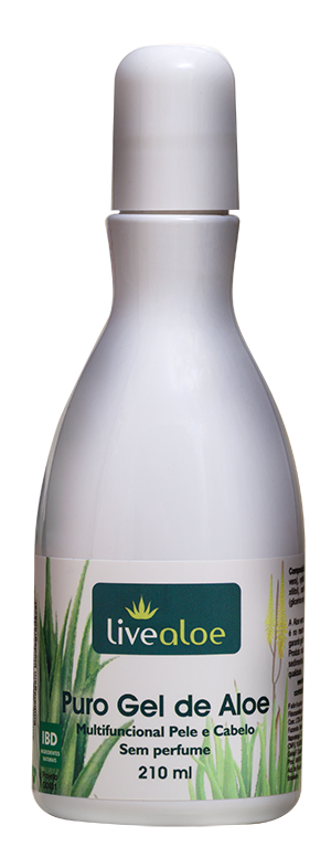 Puro Gel de Aloe Multifuncional Natural Livealoe - 210ml