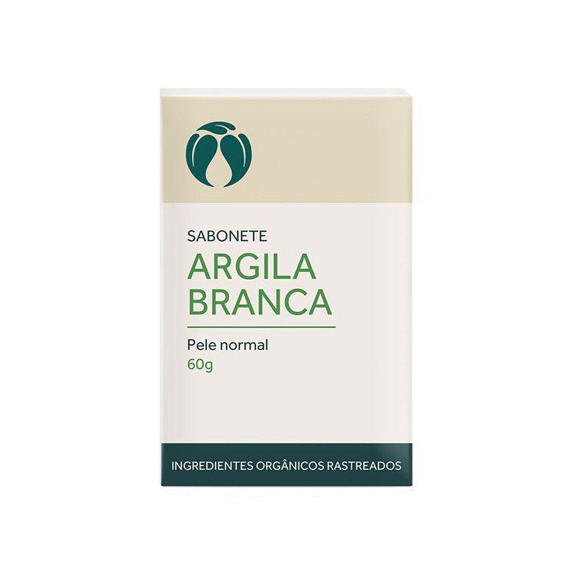 Sabonete de Argila Branca para Pele Normal Cativa Natureza - 60g