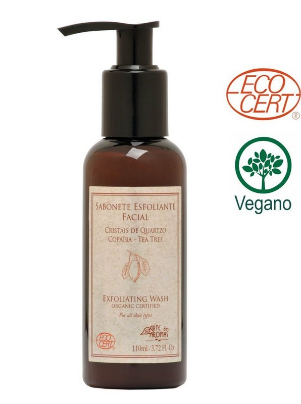 Sabonete Esfoliante Facial Orgânico Copaíba e Tea Tree Arte dos Aromas – 110ml