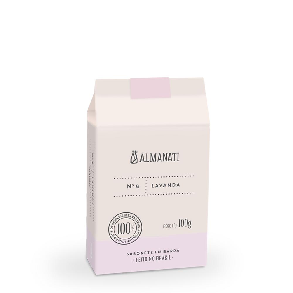 Sabonete Natural de Lavanda Almanati - 100g