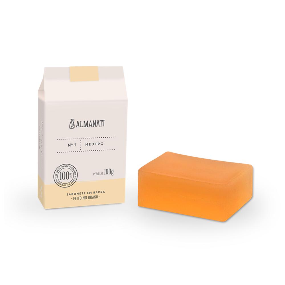 Sabonete Natural Neutro Almanati - 100g