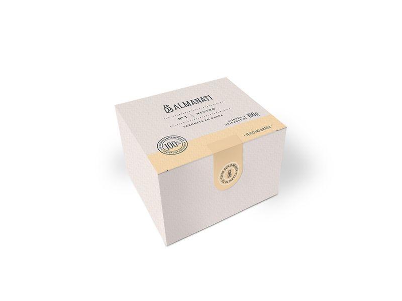Sabonete Natural Neutro Almanati - 3 unidades