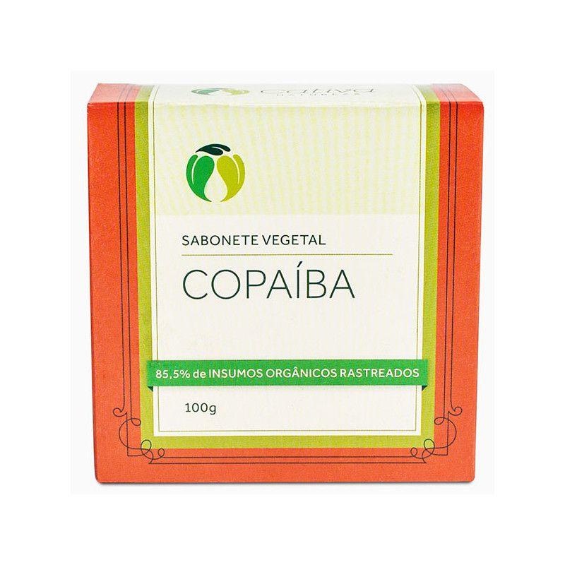 Sabonete Vegetal de Copaíba Cativa Natureza - 100g