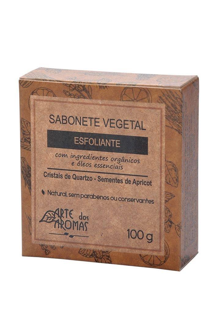 Sabonete Vegetal em Barra Esfoliante Cristais de Quartzo Arte dos Aromas - 100g