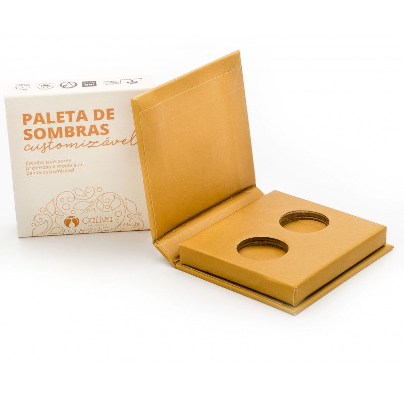 Sombra Vegana Refil Cativa Natureza 1,5g - Antique Gold