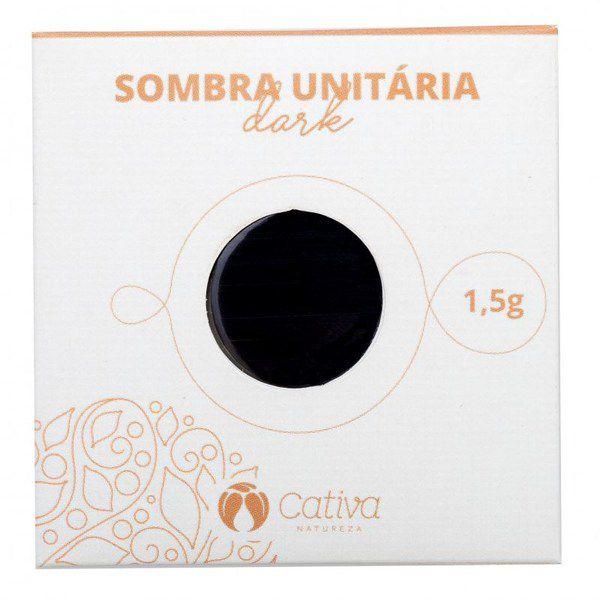 Sombra Vegana Refil Cativa Natureza 1,5g - Dark