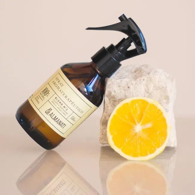 Spray Ambiente Aromaterapia Alegria e Criatividade Blend 2 Almanati - 150ml