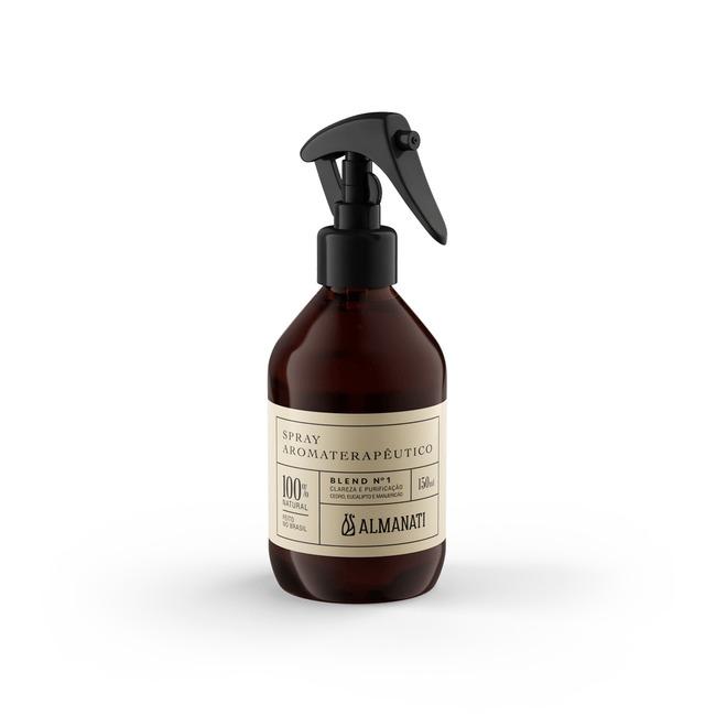 Spray Ambiente Aromaterapia Clareza e Purificação Blend 1 Almanati - 150ml