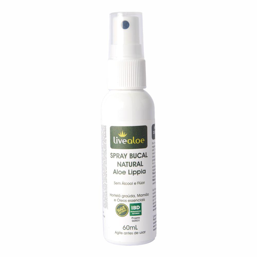 Spray Bucal Natural Livealoe - 60ml