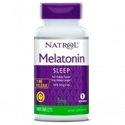 Melatonina Natrol 3mg - 100 caps Time Release