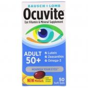 Ocuvite 50+ Bausch Lomb - 50 Soft Gels