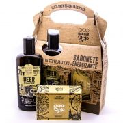 QOD Kit Beer Xampu 240 ml & Bar Soap 200 g