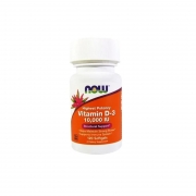 Vitamina D3 10.000 IU (250mcg) - Now Foods - 120 Softgels