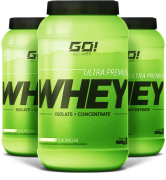 WHEY ISOLATE + CONCENTRATE ULTRA PREMIUM - GO NUTRITION - 900g