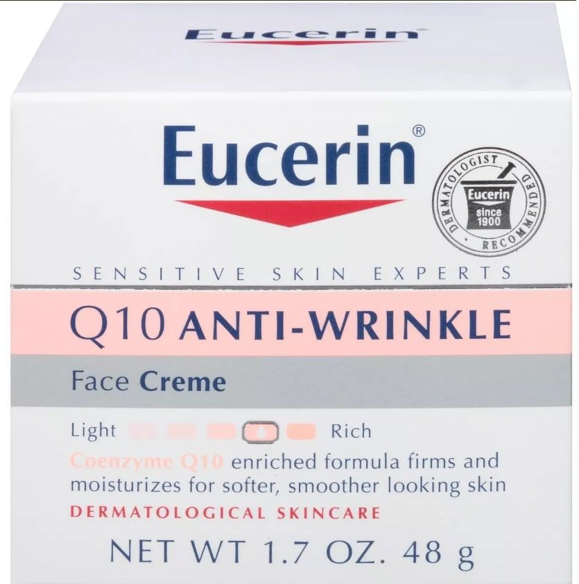Eucerin Q10 Anti-rugas Creme Facial 48g