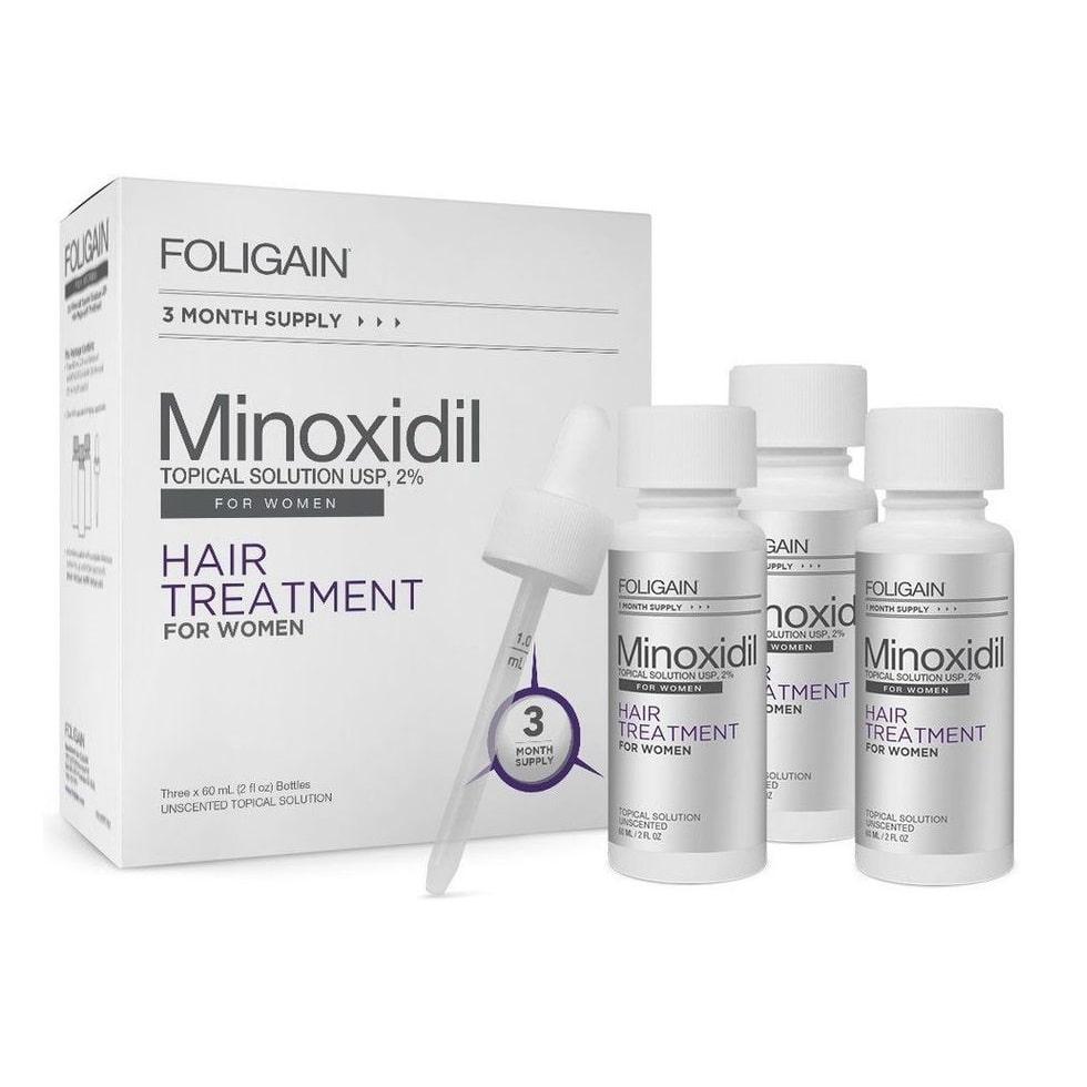 Foligain Minoxidil 2% - 1 mês de tratamento - 60ml