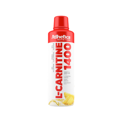 L-Carnitine 1400 - Atlhetica Nutrition Abacaxi