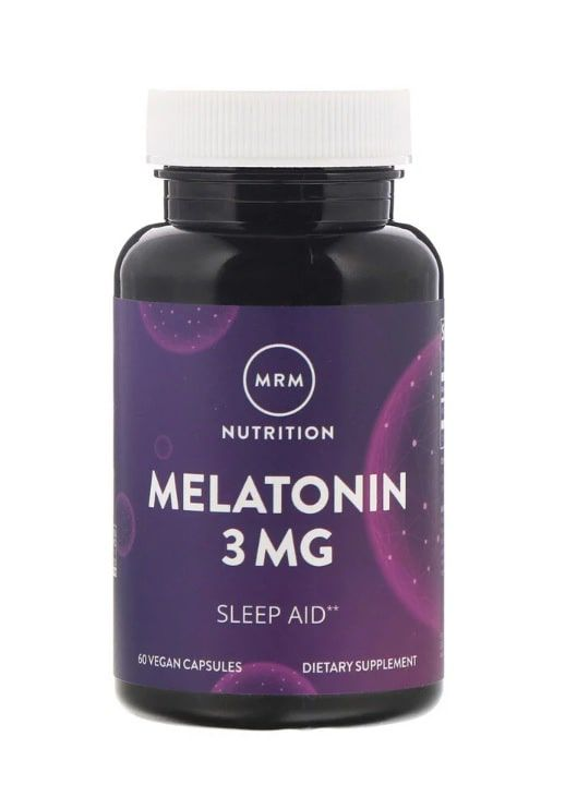 Melatonina 3 mg MRM - 60 tabletes
