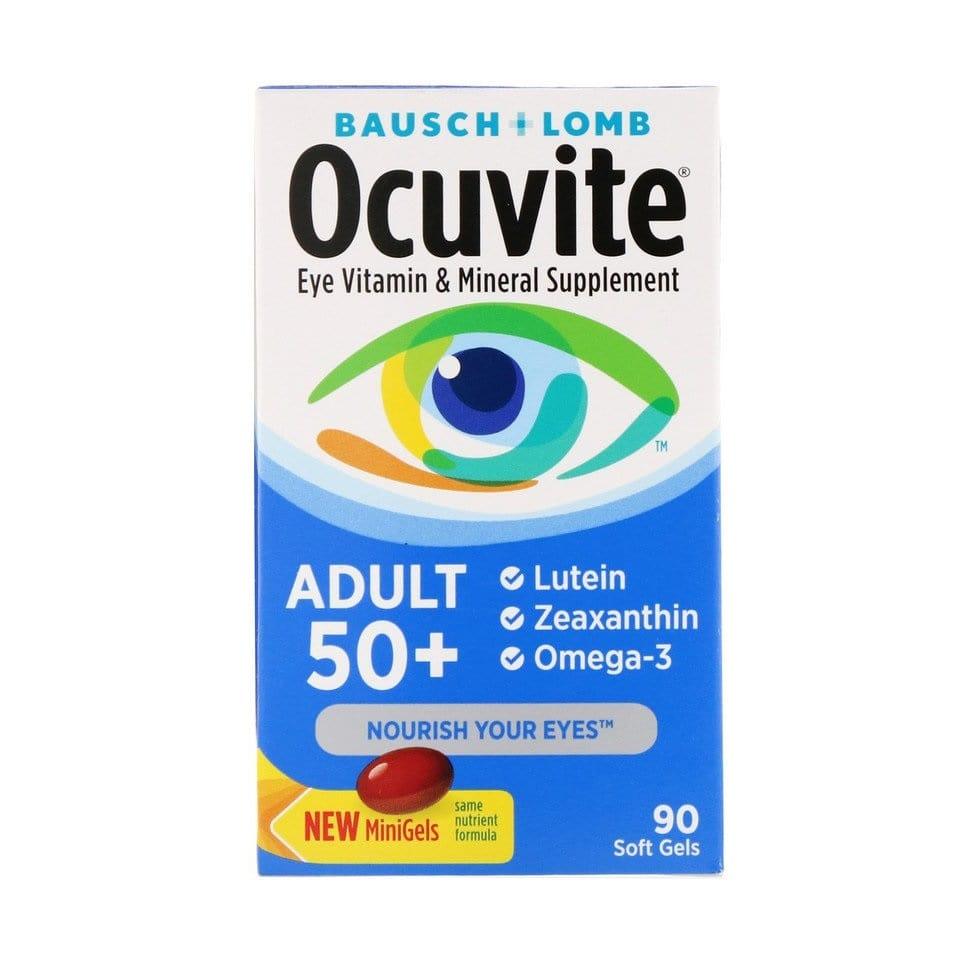 Ocuvite 50+ Bausch Lomb - 90 Soft Gels