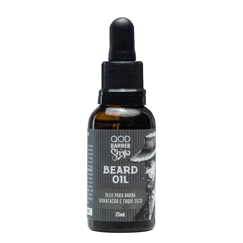 ÓLEO HIDRATANTE PARA BARBA BEARD OIL - QOD BARBER SHOP -  25ML