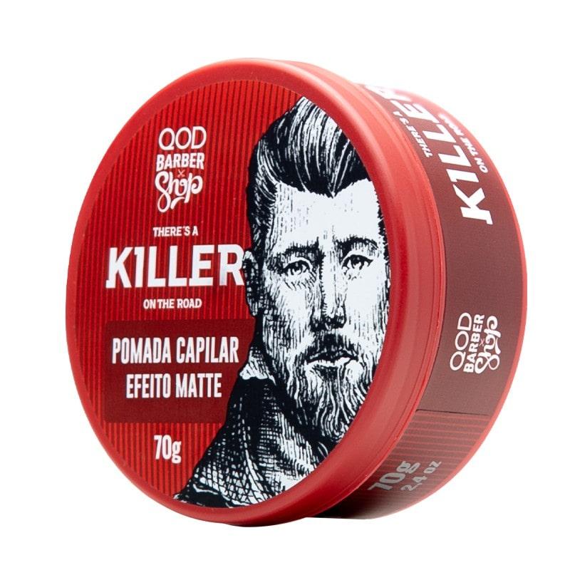 QOD Pomada Capilar Killer alta fixação efeito matte - 70G