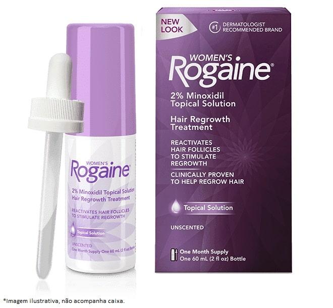 Rogaine Minoxidil 2% - 1 mês de tratamento
