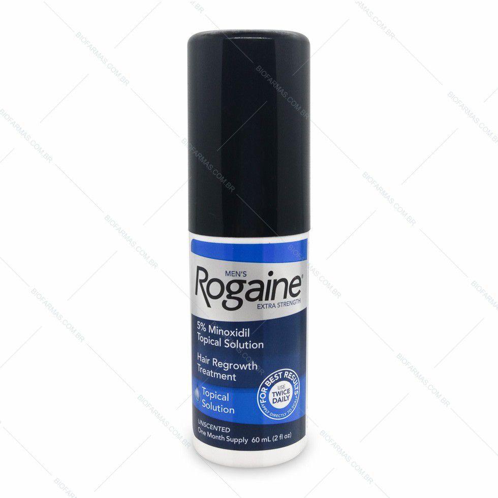 Rogaine Minoxidil 5% - 3 meses tratamento
