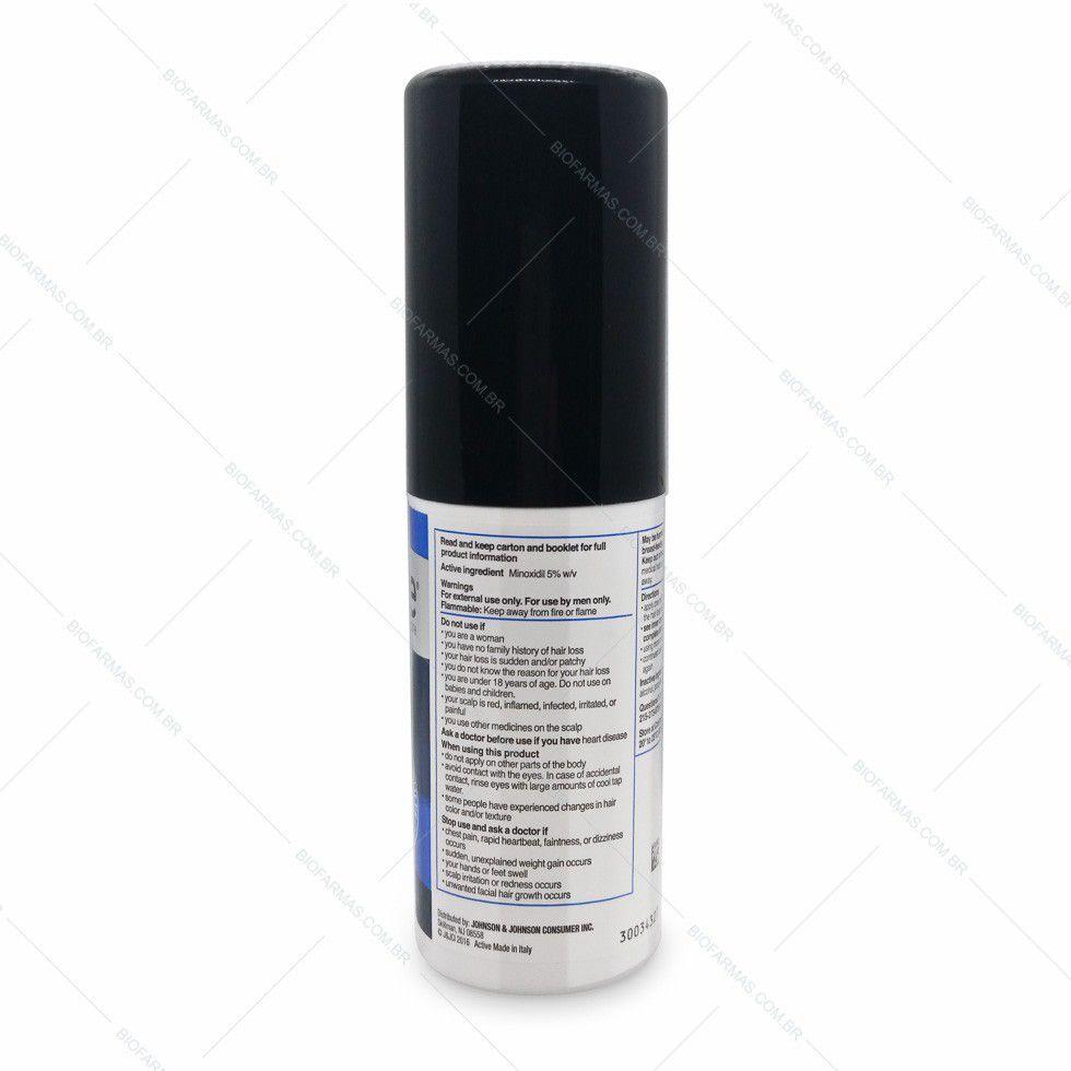 Rogaine Minoxidil 5% - 6 meses tratamento