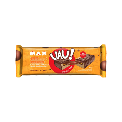 UAU Protein Bar - Max Titanium Chocolate Crocante