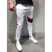 CALÇA BRANCA CASUAL SLIM FIT