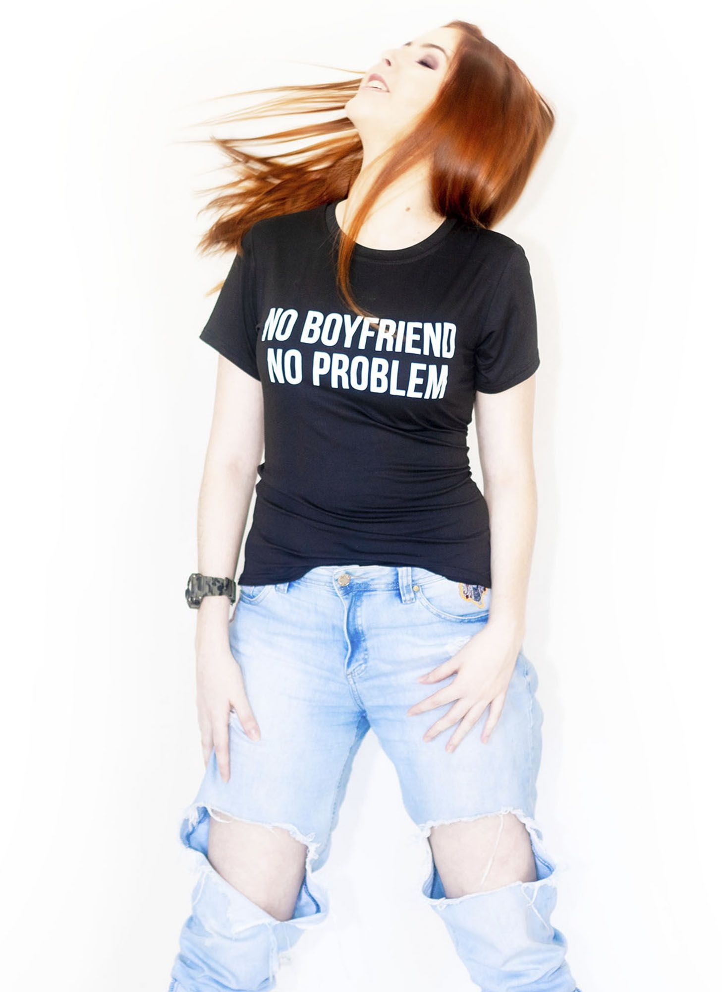 CAMISETA NO BOY FRIEND